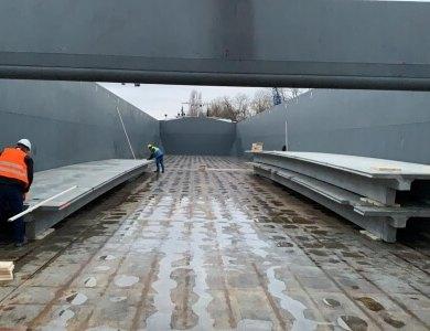 Schiff mit TT-vloeren
